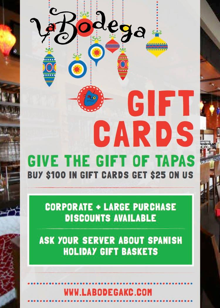 Give the gift of Tapas!