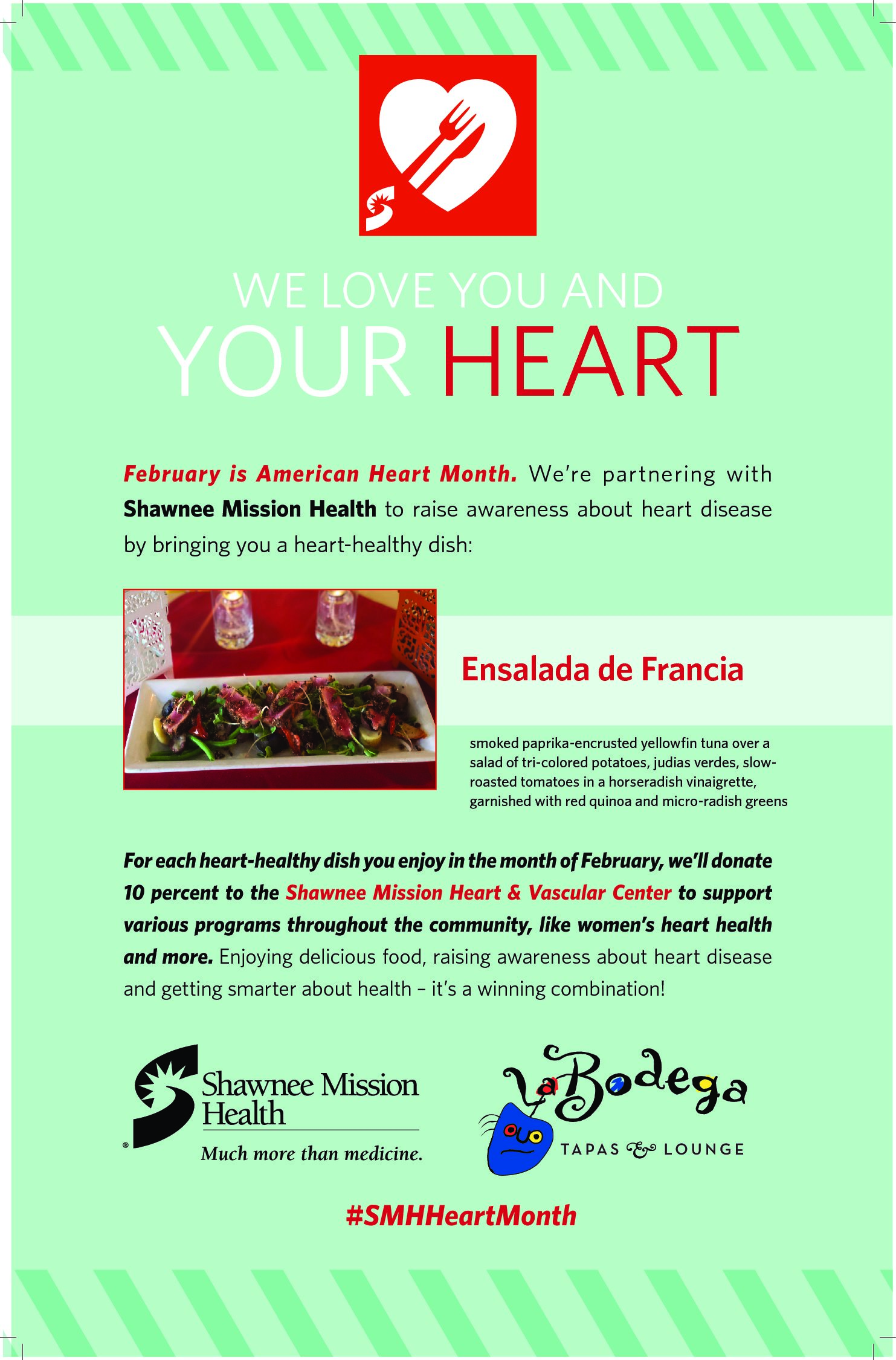 Heart Healthy Month at THE ORIGINALE on Southwest Boulevard!