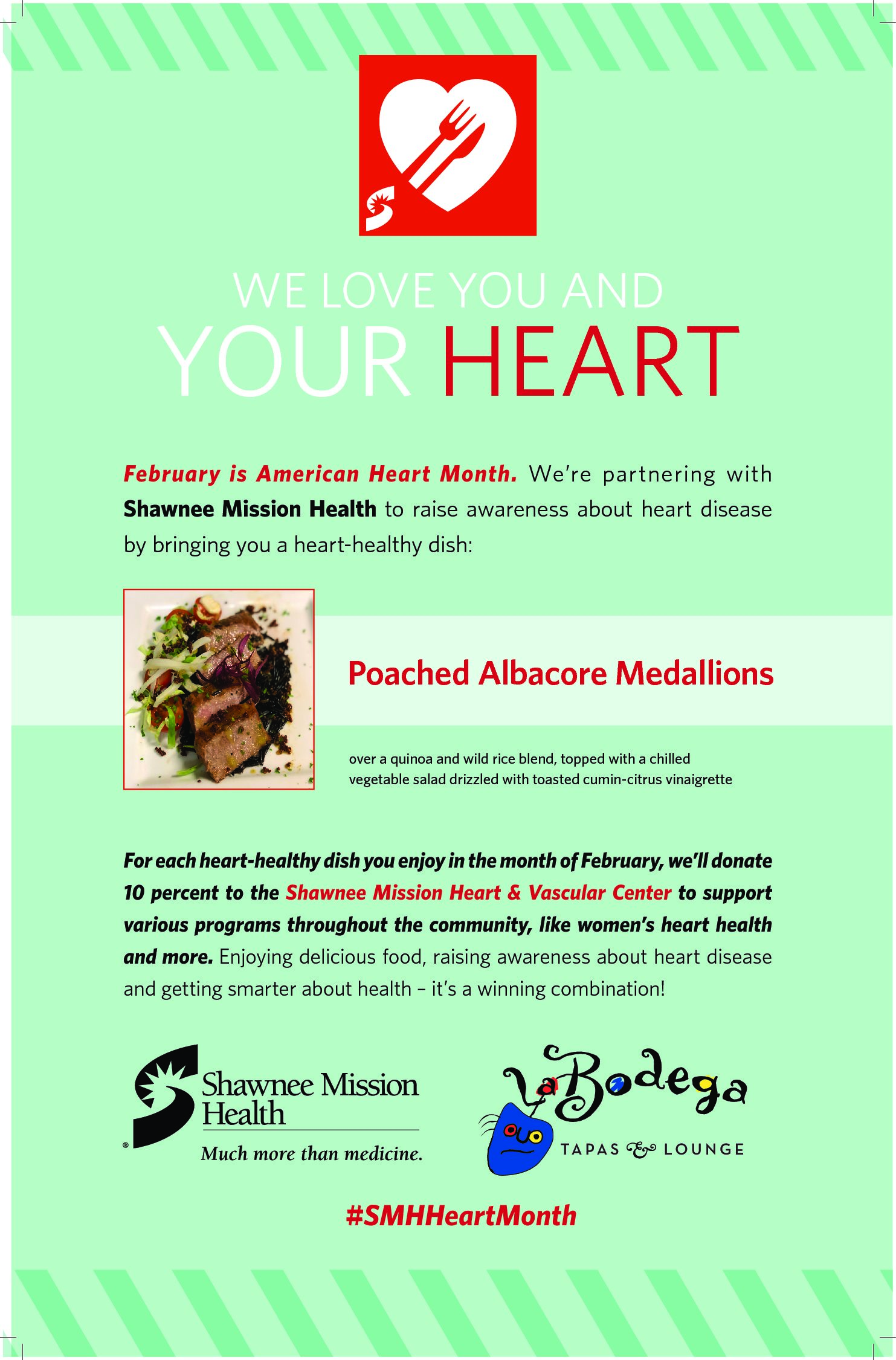 Heart Healthy Month at LEAWOOD!