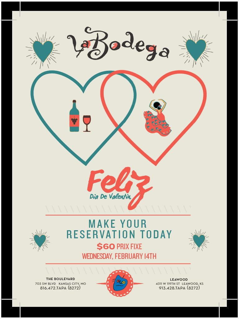 Valentine's Day at La Bodega